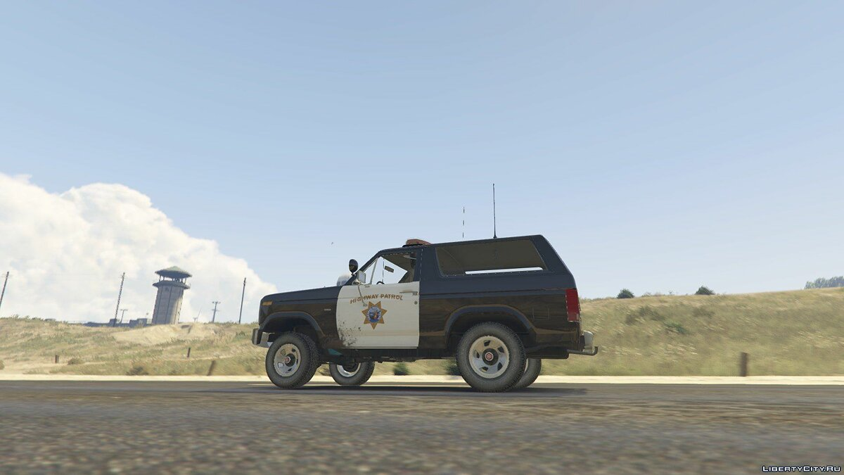 1980 Ford Bronco California Highway Patrol 1.0 для GTA 5 - скриншот #5