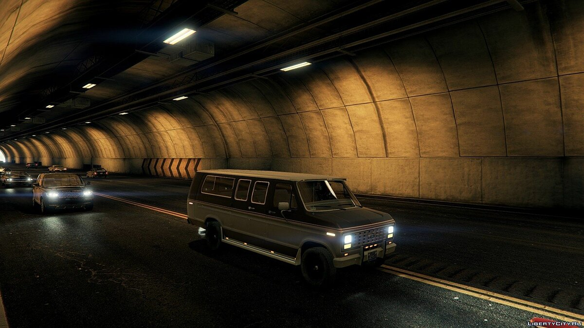 1982 Ford Ecoline Club Wagon E-350 XLT для GTA 5 - скриншот #5