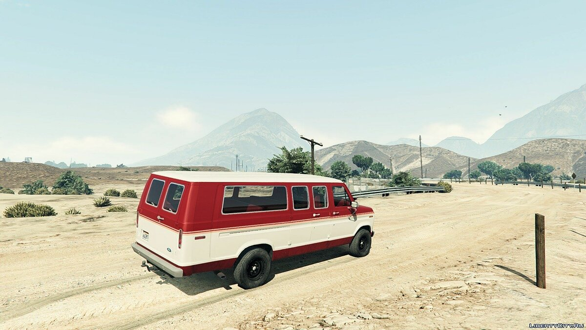 1982 Ford Ecoline Club Wagon E-350 XLT для GTA 5 - скриншот #4