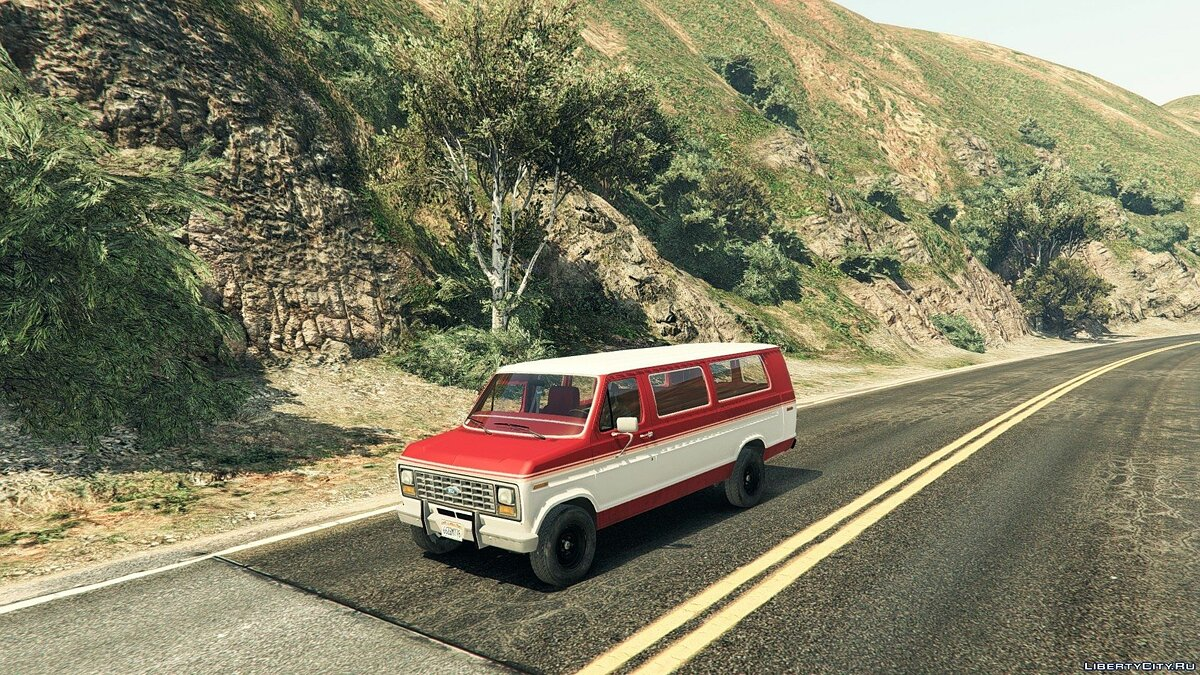 1982 Ford Ecoline Club Wagon E-350 XLT для GTA 5