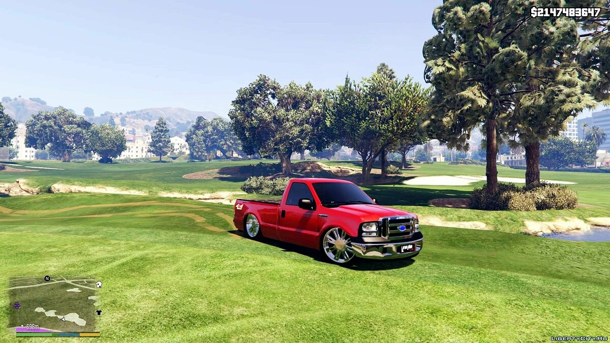 Ford F-250 GcincoSoundCar ( Replace ) 1.0 для GTA 5
