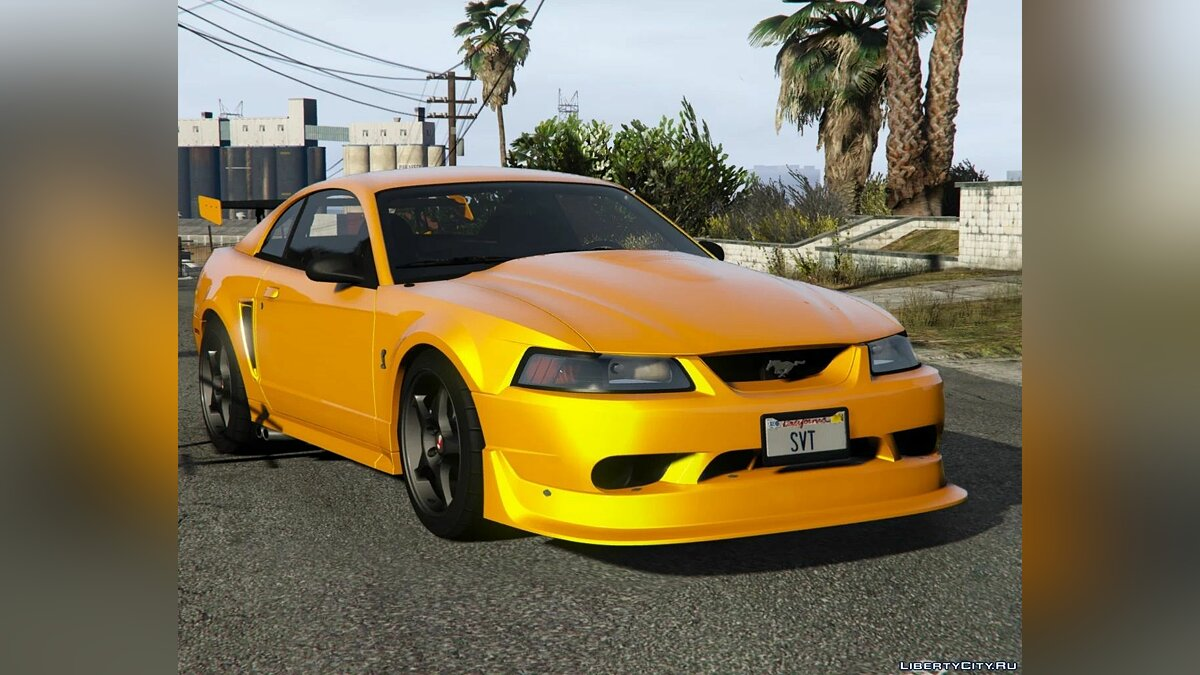 Машина Ford Ford Mustang SVT Cobra R 2000 [Add-On | Extras | Template] 1.0 для GTA 5