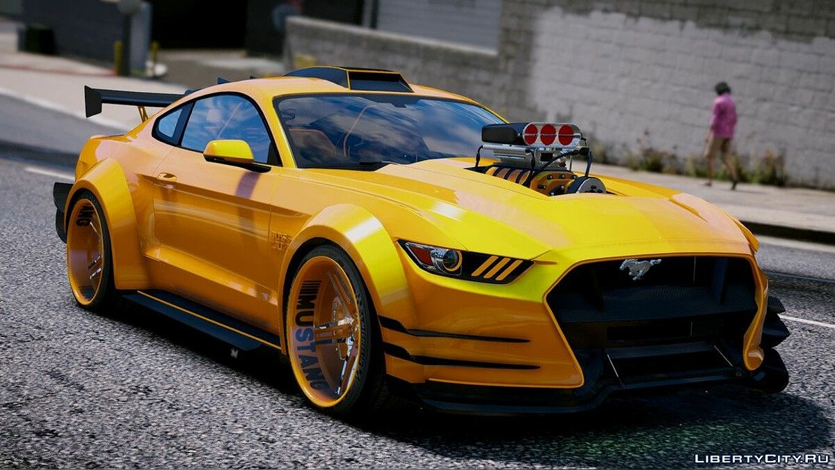 Машина Ford Ford Mustang GT [Add-On | Tuning] для GTA 5