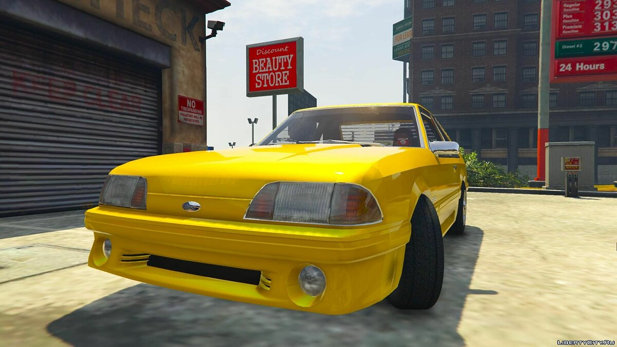 Ford Mustang Fox Body для GTA 5