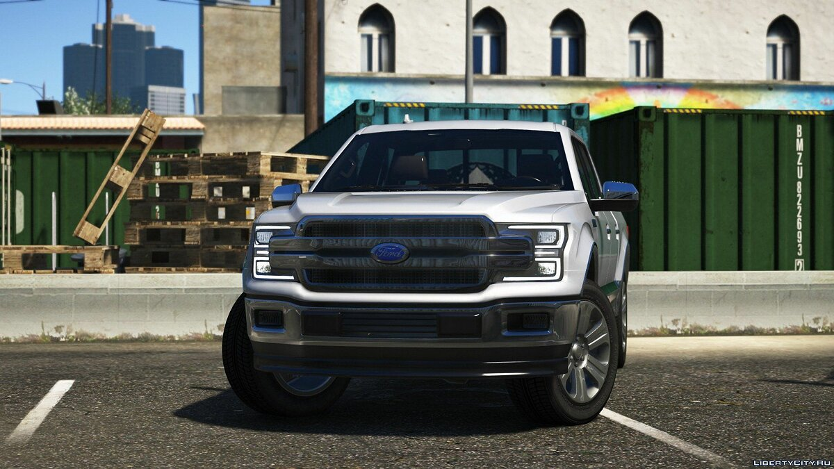 Машина Ford 2018 Ford F-150 Lariat SuperCrew для GTA 5