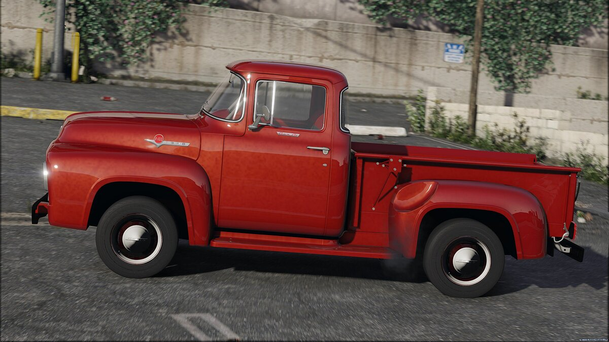 56 Ford F100 [FH3] | ADDON | Animated Engine & Exhaust 1.3 для GTA 5 - скриншот #2