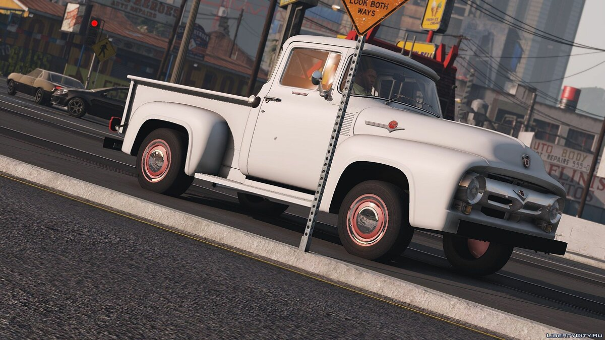 56 Ford F100 [FH3] | ADDON | Animated Engine & Exhaust 1.3 для GTA 5 - скриншот #11