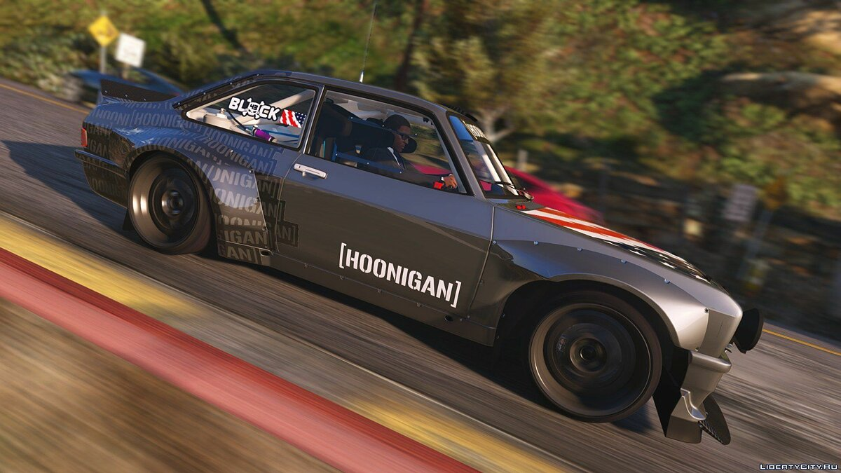 1978 Hoonigan Ford Escort Mk2 RS [ADD-ON / TUNING / TEMPLATE] v1 для GTA 5 - скриншот #3
