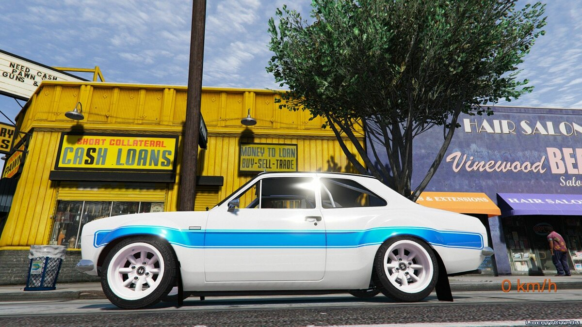 Ford Escort RS1600 MK1 (Fast & Furious 6) [Add-On] 2.0 для GTA 5