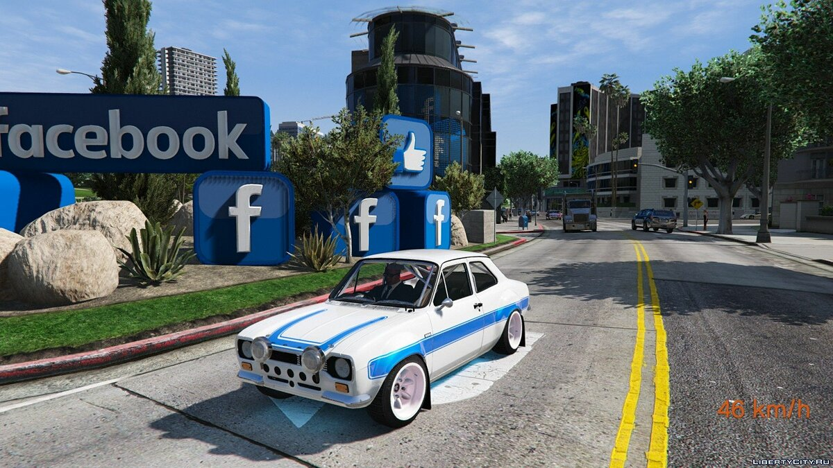 Ford Escort RS1600 MK1 (Fast & Furious 6) [Add-On] 2.0 для GTA 5 - скриншот #2