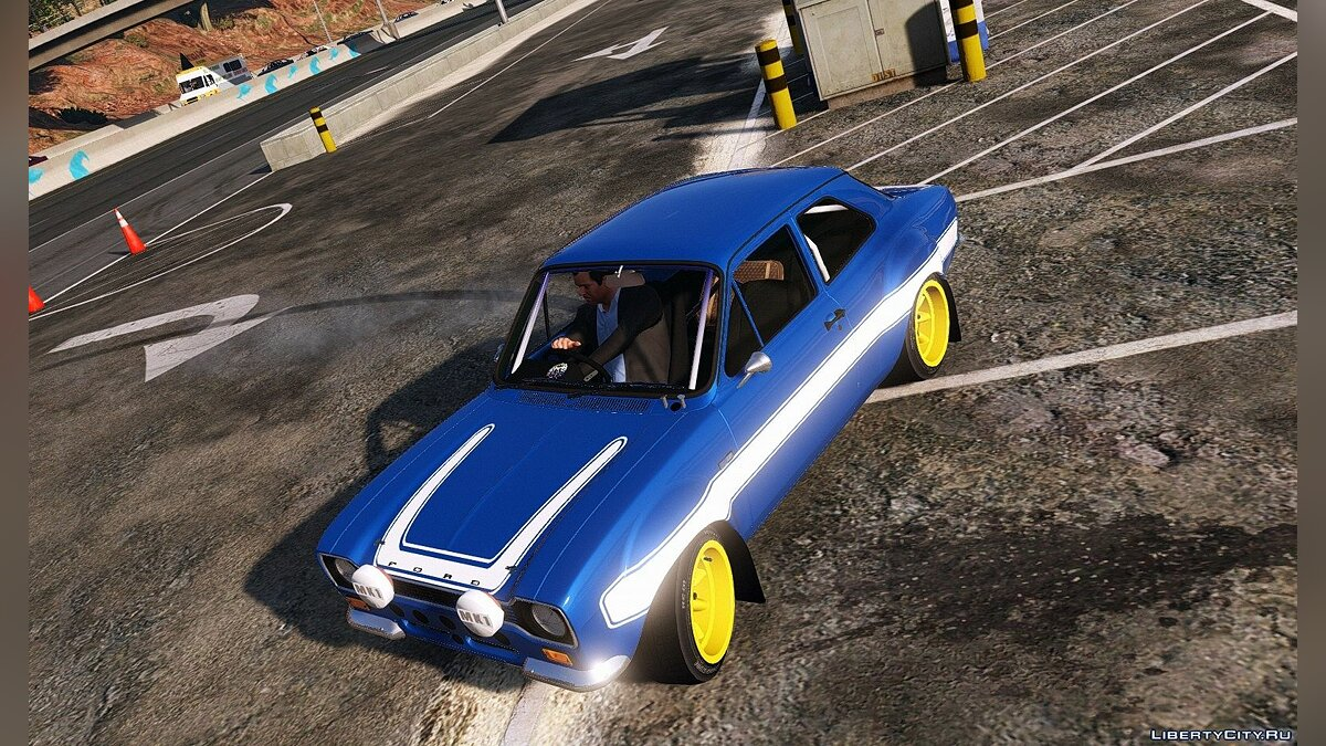 Ford Escort RS1600 MK1 (Fast & Furious 6) [Add-On] 2.0 для GTA 5 - скриншот #3