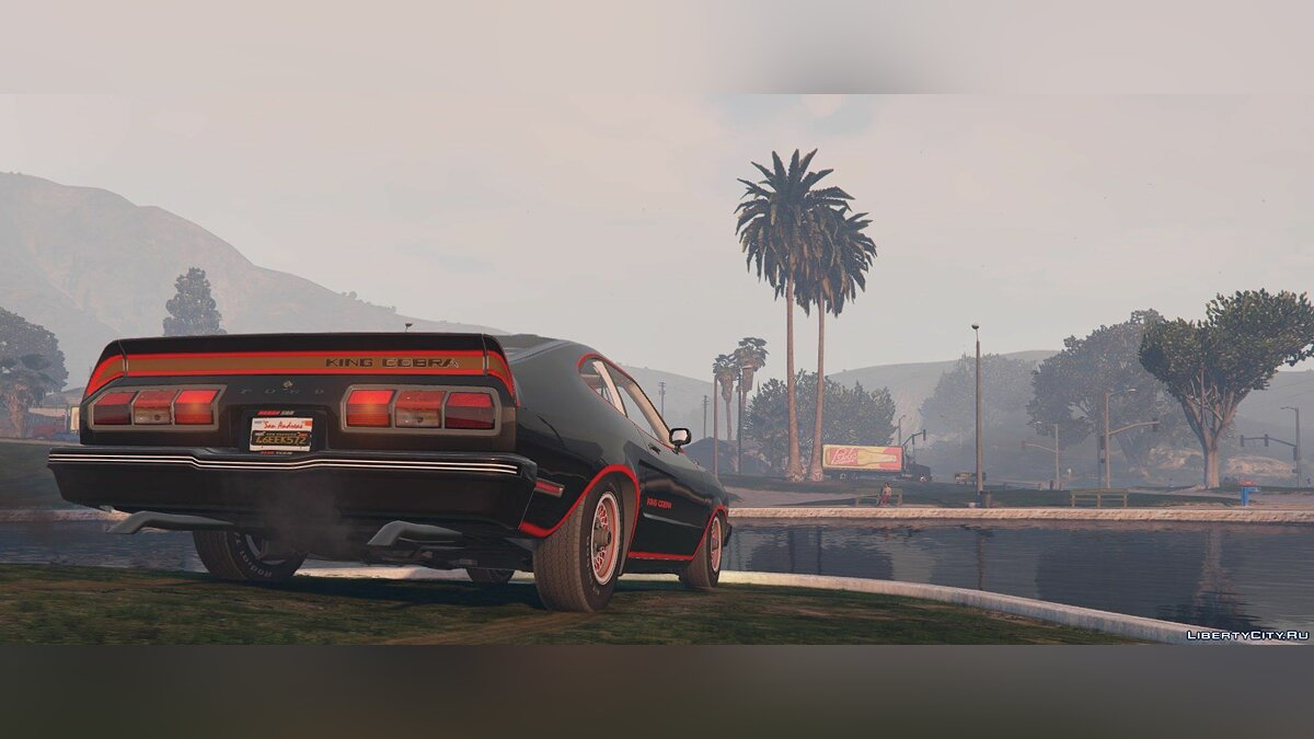 ��ашина Ford Ford Mustang King Cobra 1978 [Replace] 1.0 [BETA] для GTA 5