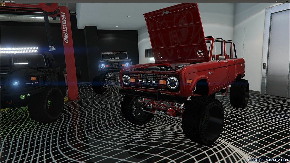 Машина Ford 1972 Ford Bronco