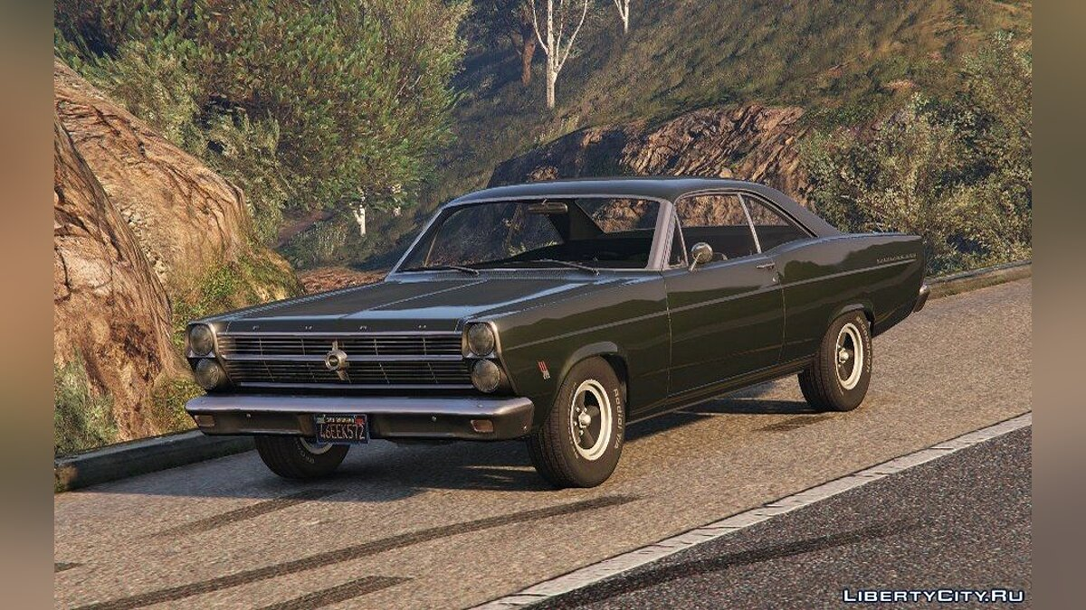 1966 Ford Fairlane 500 [Add-On] 1.4 для GTA 5 - скриншот #2