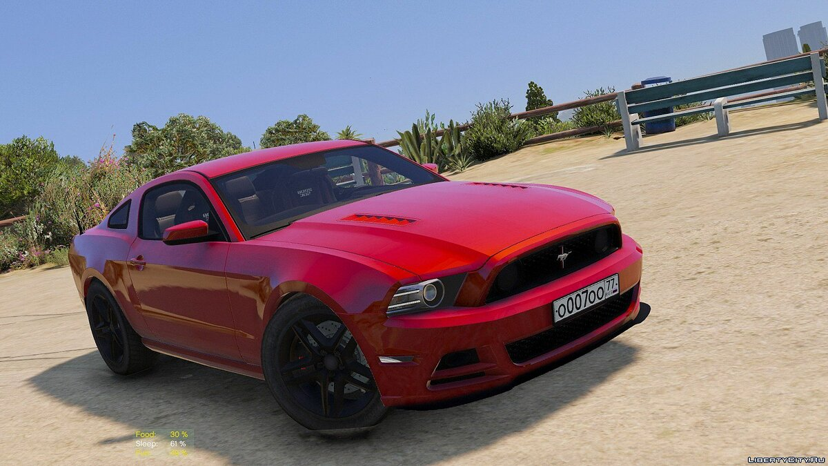 Ford Mustang Boss 302 2013 [Replace / HQ] 1.0 для GTA 5