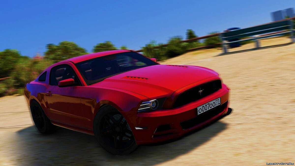 Ford Mustang Boss 302 2013 [Replace / HQ] 1.0 для GTA 5 - скриншот #4
