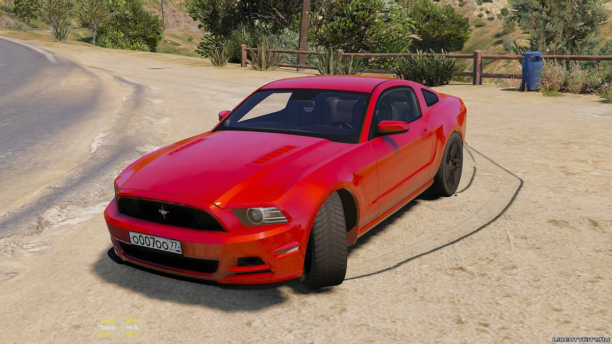 Ford Mustang Boss 302 2013 [Replace / HQ] 1.0 для GTA 5 - скриншот #3