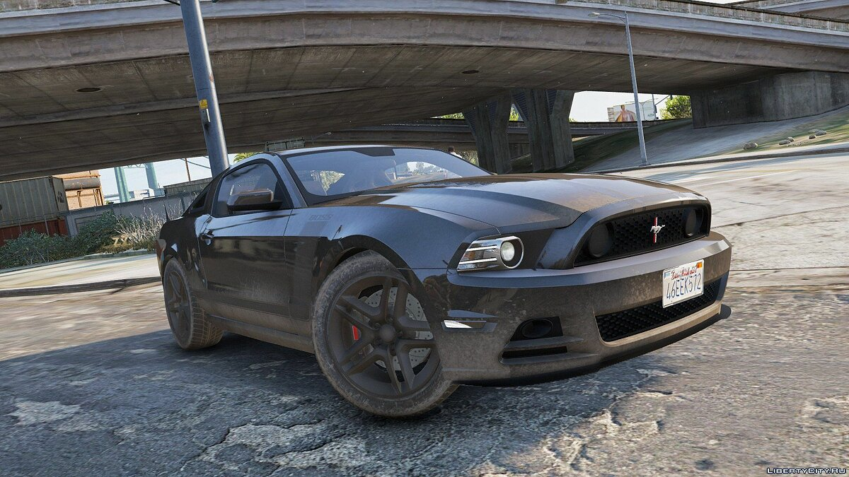 Ford Mustang Boss 302 2013 [Replace / HQ] 1.0 для GTA 5 - скриншот #12