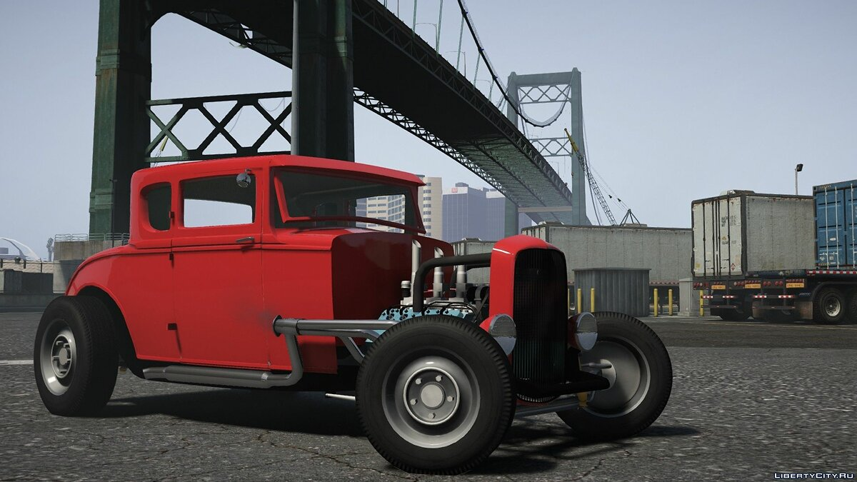Машина Ford Ford Hot Rod 1930 [Add-On | LODs | Extras | Dirtmap | Template] для GTA 5