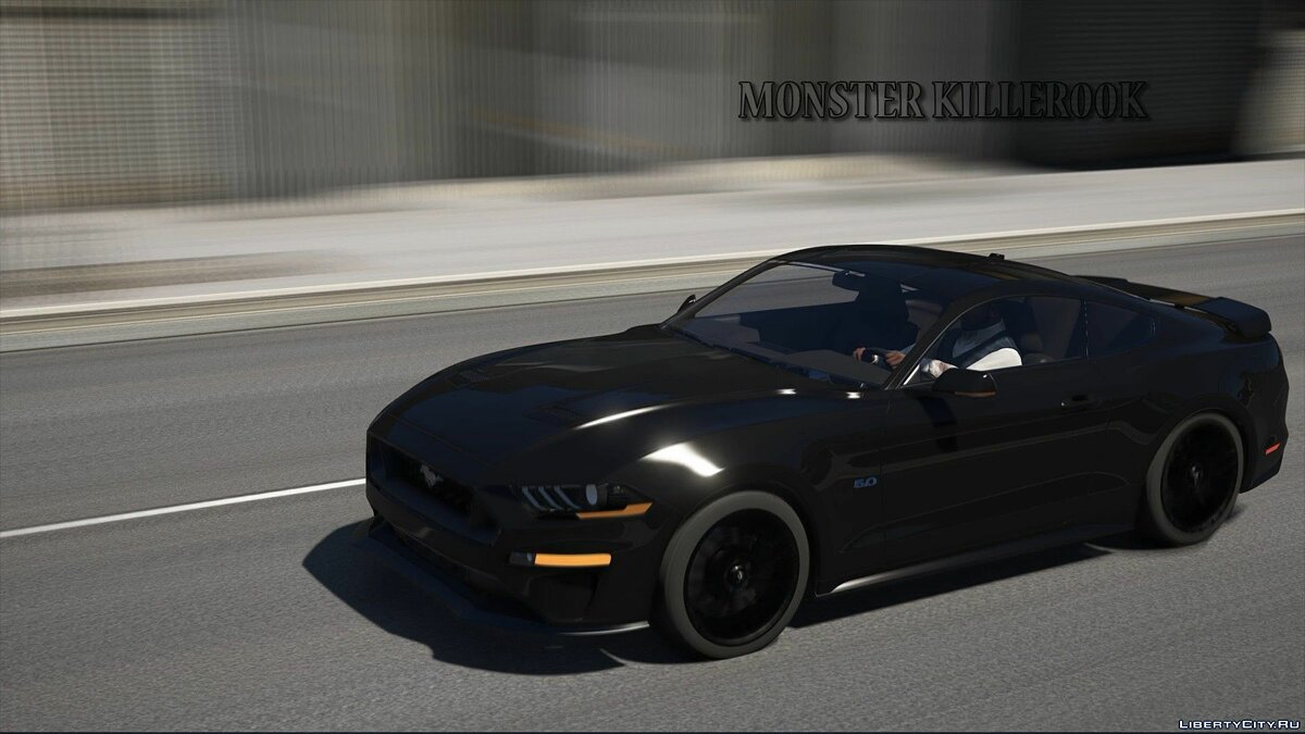 Машина Ford Ford Mustang GT 2018 [Add-On / Replace] 1.1 для GTA 5