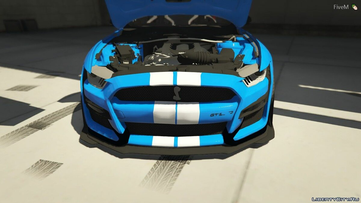 Машина Ford 2020 Ford Mustang GT500 FIvem Ready | ADD-ON | Replacement 1.1 для GTA 5