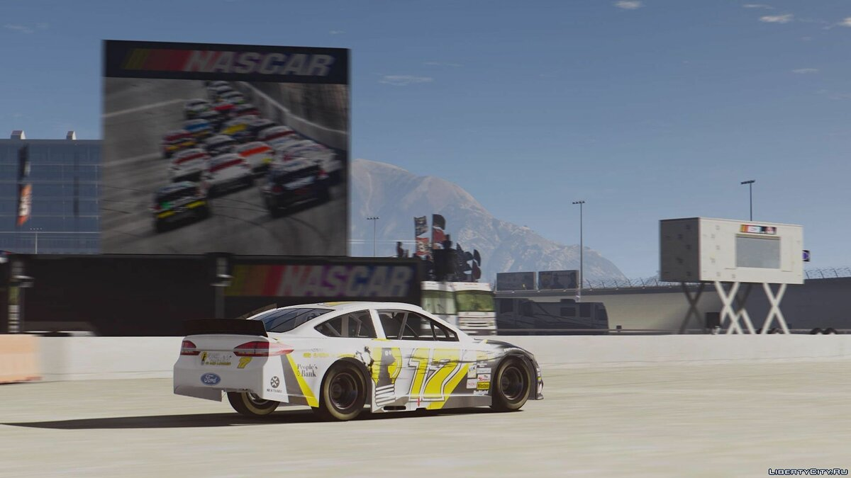 Ford Fusion NASCAR [Add-On | Livery] для GTA 5 - скриншот #2