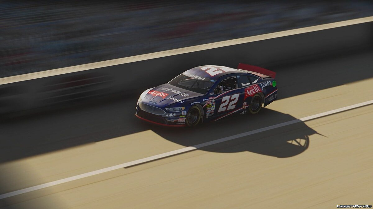Ford Fusion NASCAR [Add-On | Livery] для GTA 5 - скриншот #3