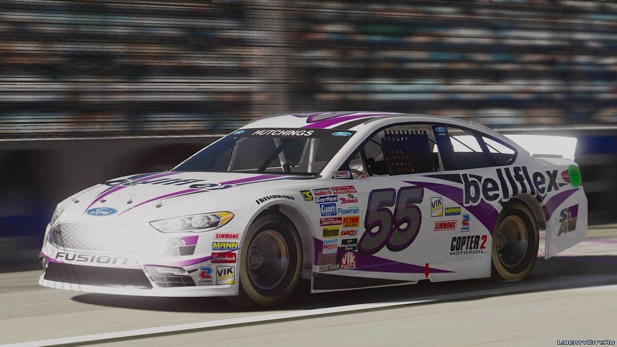 Ford Fusion NASCAR [Add-On | Livery] для GTA 5 - скриншот #4