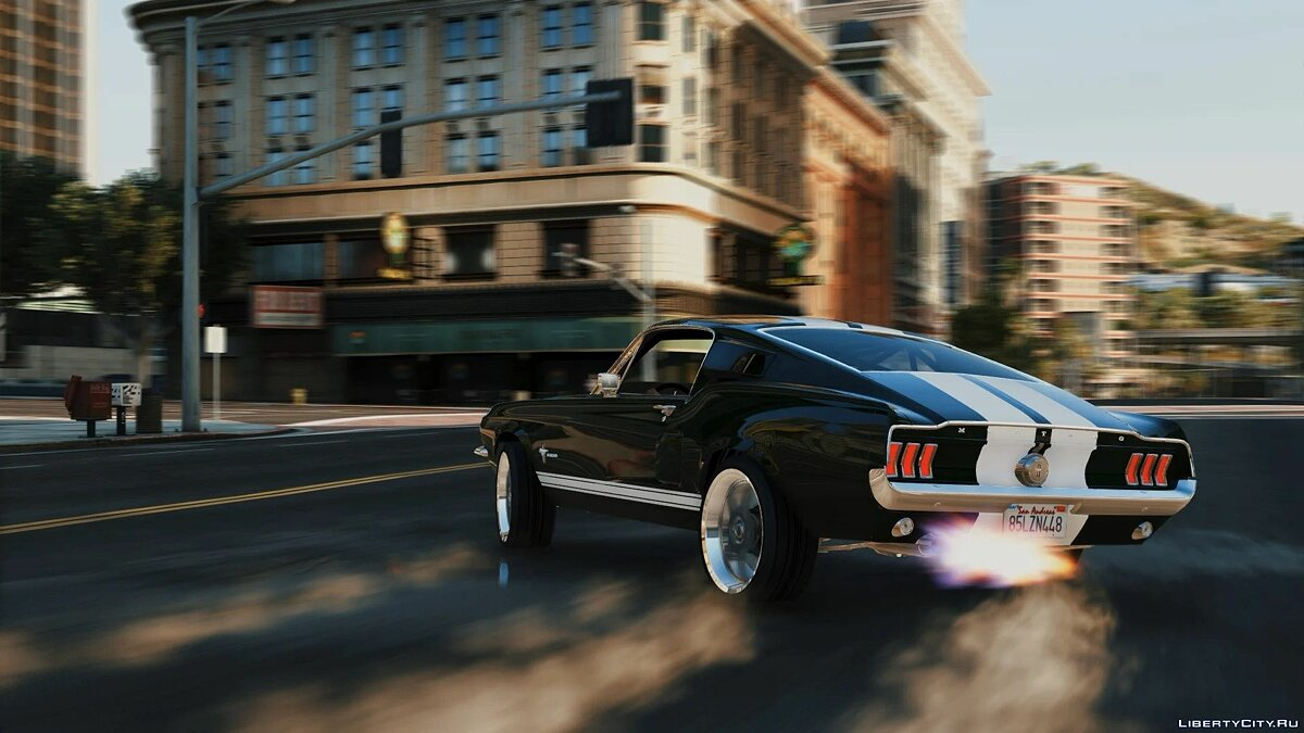 Машина Ford Ford Mustang Fastback '67 (Tokyo Drift) [CSR2] [Add-On / Replace] 1.0 для GTA 5