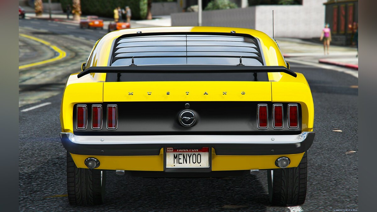 ��ашина Ford 1969 Ford Mustang Boss 302 [Replace] 1.0 для GTA 5