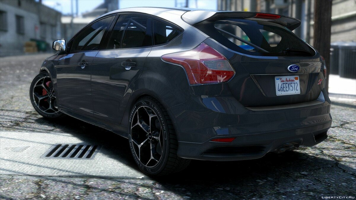 2013 Ford Focus ST X RS 500 для GTA 5 - скриншот #2