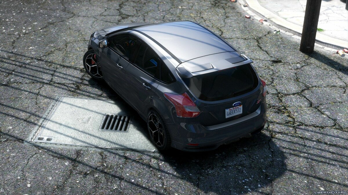 2013 Ford Focus ST X RS 500 для GTA 5 - скриншот #3