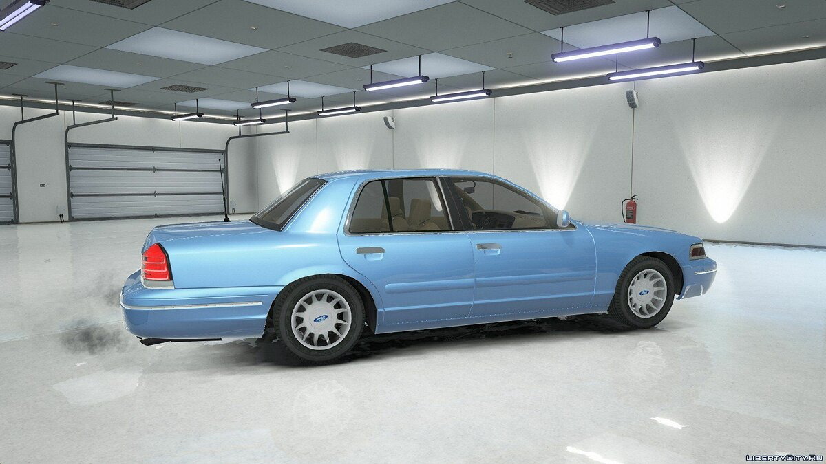 ��ашина Ford 2003 Ford Crown Victoria Lx 1.0 для GTA 5