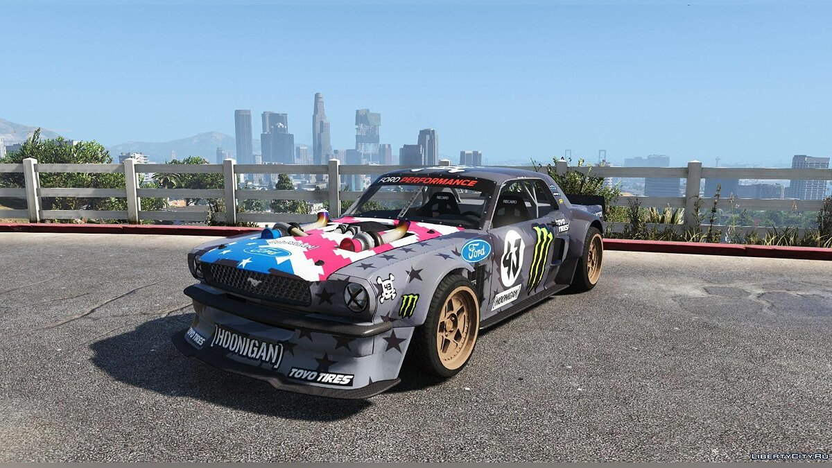 Ford Mustang 1965 RTR Hoonicorn V2 [Add-On / Replace] 1.1 для GTA 5