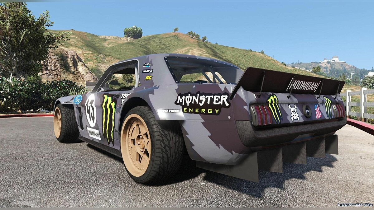 Ford Mustang 1965 RTR Hoonicorn V2 [Add-On / Replace] 1.1 для GTA 5 - Картинка #3
