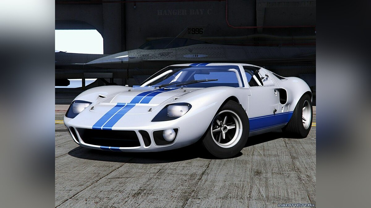 Машина Ford Ford GT40 MK I '64 [Add-On | Template | Extras] 1.0 для GTA 5