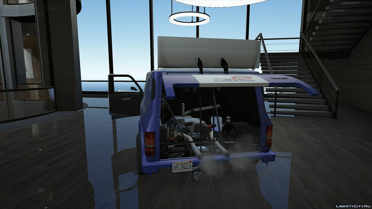 Машина Ford Ford Transit Supervan 3 (Add-on/Replace) 1.0 для GTA 5