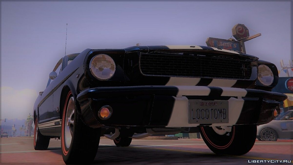 Машина Ford 1966 Ford Mustang Fastback 2+2 [Template][Owners_Manual] 1.0 для GTA 5