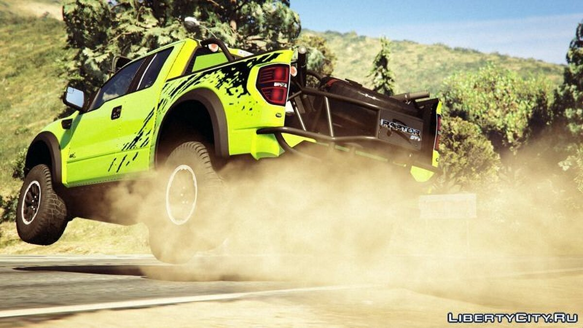 Ford F150 STV Raptor для GTA 5 - скриншот #3