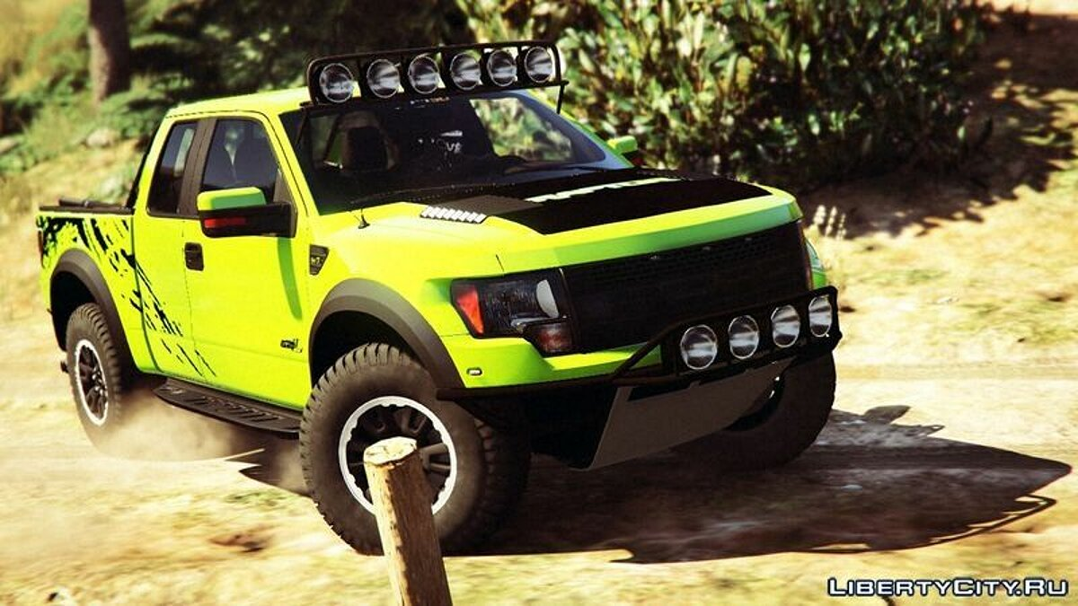 Ford F150 STV Raptor для GTA 5