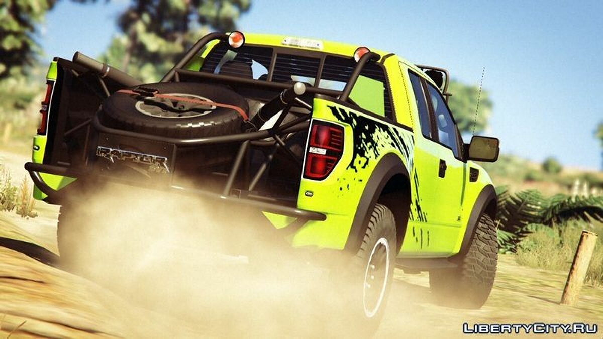 Ford F150 STV Raptor для GTA 5 - скриншот #4
