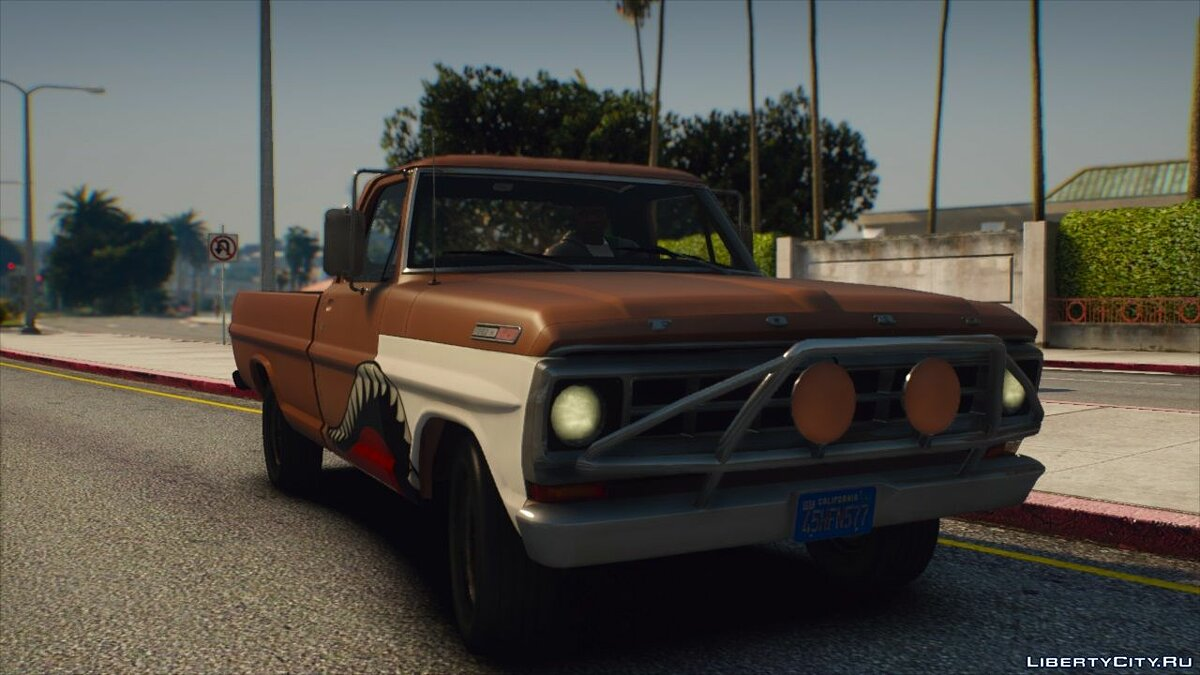 Машина Ford Ford F100 1970 [Add-On   Extras   Animated   Template] 1.0 для GTA 5