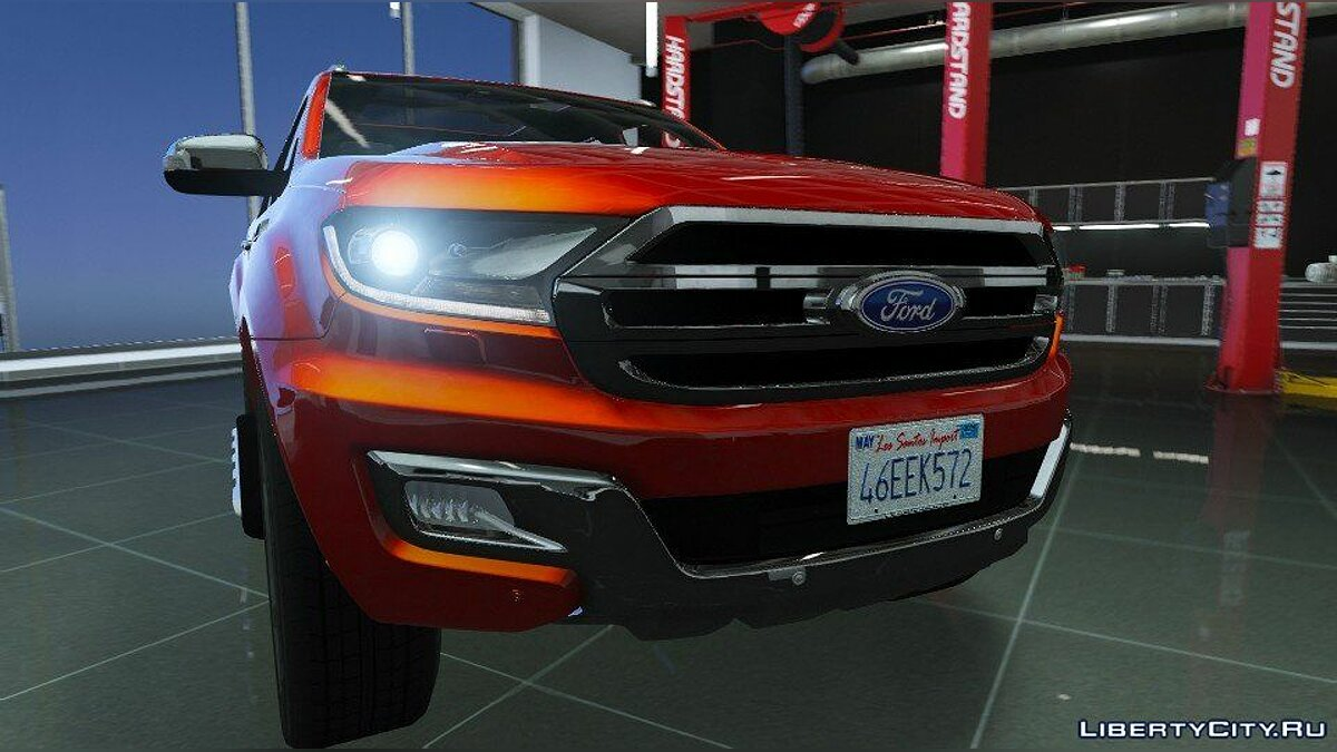 Ford Everest (Add-on / Replace / OIV / Trailer) 1.0 для GTA 5