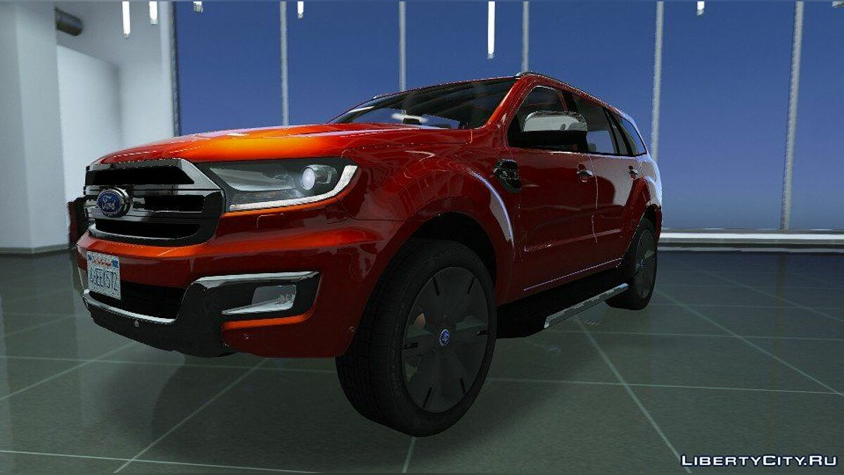 Ford Everest (Add-on / Replace / OIV / Trailer) 1.0 для GTA 5 - скриншот #3