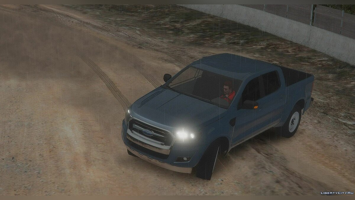 Машина Ford Ford Ranger Civilian [Replace | Template | Unlocked] для GTA 5