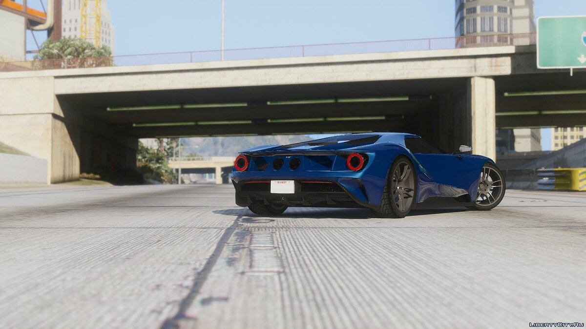 2017 Ford GT [Add-On / Replace] 1.1 для GTA 5 - скриншот #2