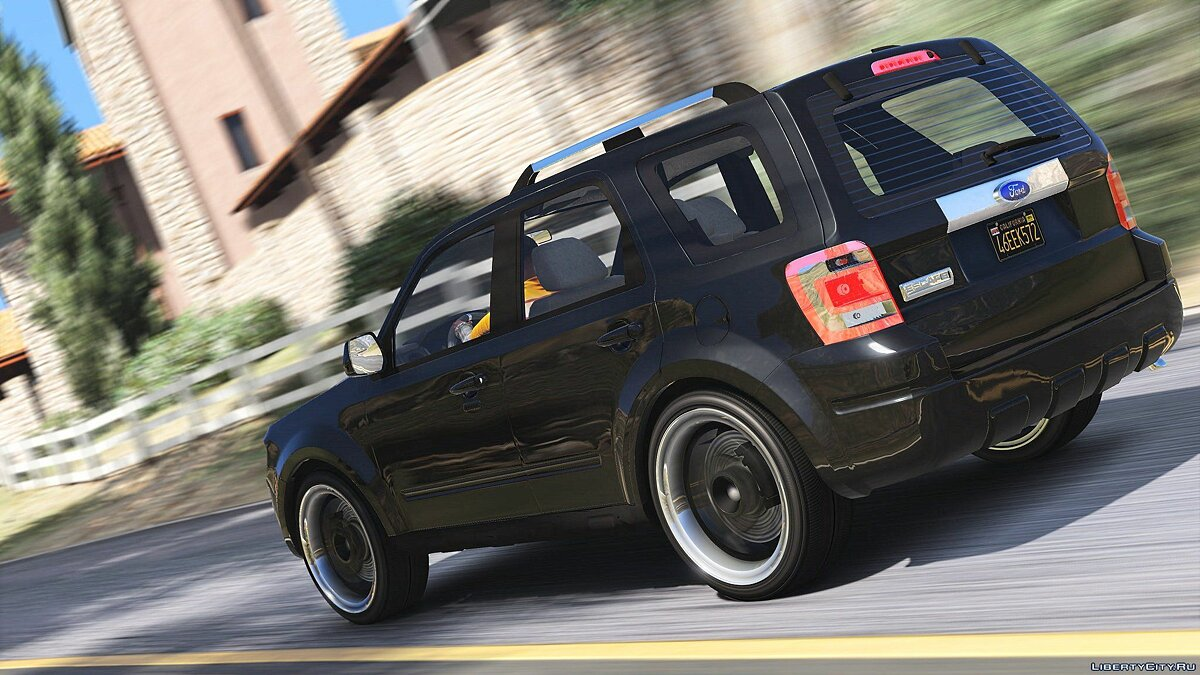 Ford Escape 2012[Add-on/Replace] [Tuning|Wipers] HQ 1.3 для GTA 5 - скриншот #4