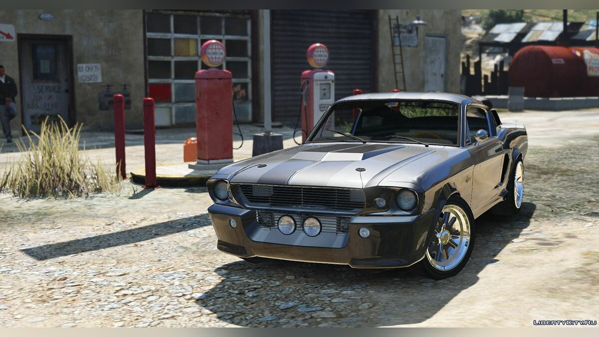 Shelby GT500 Eleanor [Add-On] для GTA 5
