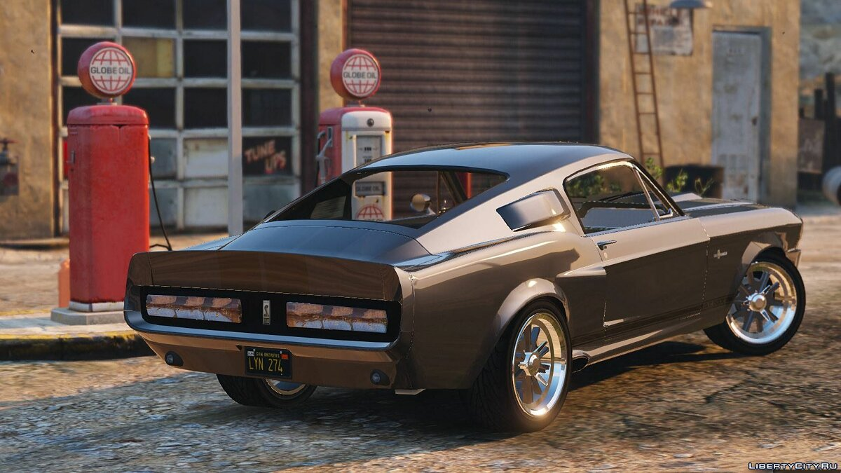 Shelby GT500 Eleanor [Add-On] для GTA 5 - скриншот #2