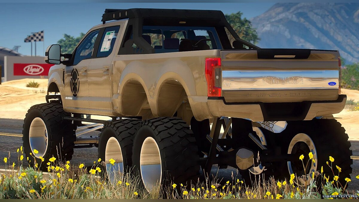 Машина Ford Ford F350 6X6 2020 [Add-On / FiveM] 1.0 для GTA 5